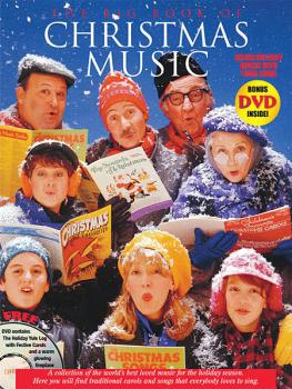 Big Book of Christmas Music with Yule Log DVD (P/V/G Songbook) (HL-14004363)