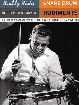 Buddy Rich's Modern Interpretation of Snare Drum Rudiments (HL-14005290)