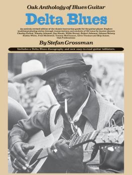 Delta Blues: Oak Anthology of Blues Guitar (HL-14008584)