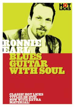 Ronnie Earl - Blues Guitar with Soul (Hot Licks) (HL-14009781)