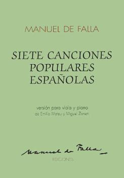 7 Canciones Populares Espanolas (for Viola and Piano) (HL-14010877)