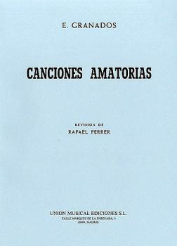 Canciones Amatorias (Voice and Piano) (HL-14013119)