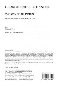 Coronation Anthem No.1 'Zadok The Priest' (HL-14014362)