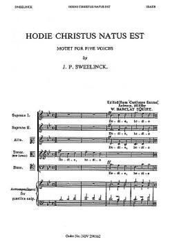 Hodie Christus Natus Est (HL-14015074)