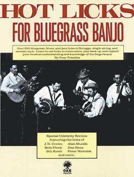 Hot Licks for Bluegrass Banjo (HL-14015428)