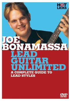 Joe Bonamassa - Lead Guitar Unlimited: A Complete Guide to Lead Styles (HL-14017110)