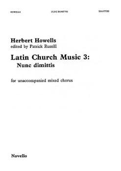 Nunc Dimittis: Latin Church Music - Vol. 3 (HL-14018668)