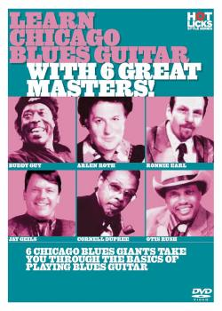 Learn Chicago Blues Guitar with 6 Great Masters! (HL-14018760)