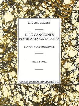 10 Canciones Populares Cantalanas: Ten Catalan Folksongs (HL-14019270)