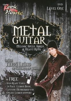 Alexi Laiho of Children of Bodom - Metal Guitar: Melodic Speed, Shred  (HL-14022172)