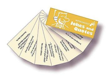 Notecracker: Jokes and Quotes (HL-14023487)