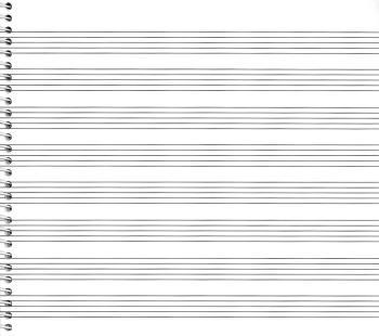 79. Spiral Book 8-stave: Passantino Manuscript Paper (HL-14025120)