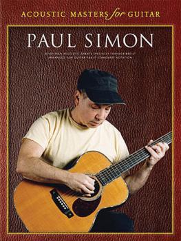 Paul Simon - Acoustic Masters for Guitar (Guitar Tab) (HL-14025209)