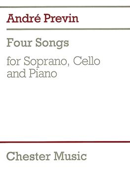 4 Songs (for Soprano, Cello & Piano) (HL-14026218)