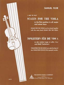 I Like to Play Scales for the Viola (HL-14028885)