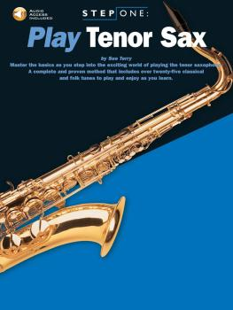 Step One: Play Tenor Sax (HL-14031475)