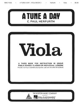 A Tune a Day - Viola (Book 3) (HL-14034234)