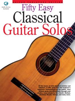 50 Easy Classical Guitar Solos (HL-14037208)
