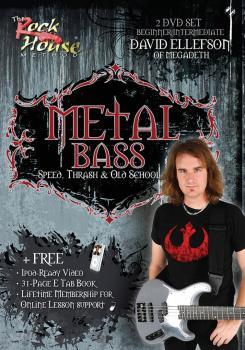 David Ellefson of Megadeth - Metal Bass: Speed, Thrash & Old School (HL-14037639)