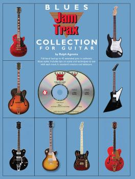 Blues Jam Trax Collection for Guitar (Book/2-CD Pack) (HL-14037686)