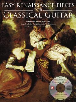 Easy Renaissance Pieces for Classical Guitar (With a CD of Performance (HL-14037750)