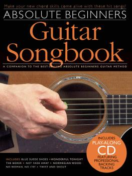 Absolute Beginners Guitar Songbook (HL-14041297)