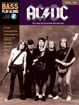 AC/DC: Bass Play-Along Volume 40 (HL-14041594)
