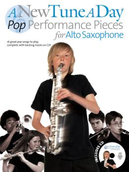A New Tune a Day - Pop Performances for Alto Saxophone (HL-14041712)