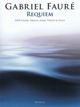 Requiem: SATB Choir, Organ, Harp, Violin, and Cello Full Score and Set (HL-14041748)