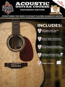 House of Blues Acoustic Guitar Course - Expanded Edition (HL-14041785)