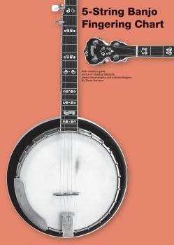 5-String Banjo Fingering Chart (HL-14042872)