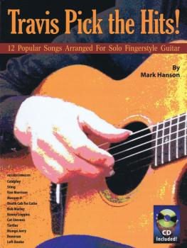 Travis Pick the Hits!: 12 Popular Songs Arranged for Solo Fingerstyle  (HL-14043466)