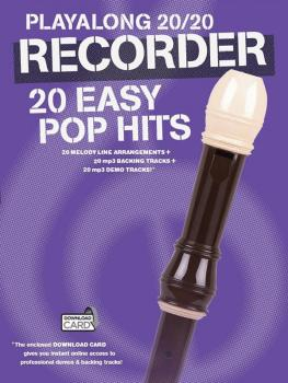 Play Along 20/20 Recorder (20 Easy Pop Hits) (HL-14043736)