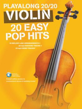 Play Along 20/20 Violin (20 Easy Pop Hits) (HL-14043737)