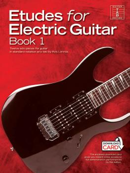 Etudes for Electric Guitar - Book 1: Twelve Solo Pieces for Guitar in  (HL-14043740)