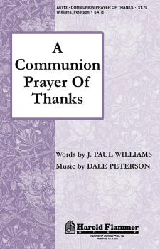 A Communion Prayer of Thanks (HL-35000044)