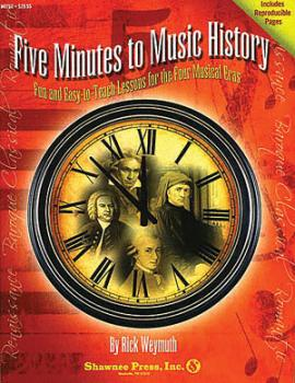 Five Minutes to Music History - Fun and Easy-to-Teach Lessons for the  (HL-35006843)