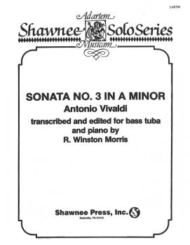 Sonata No. 3 in A Minor: Tuba in C B.C. and Piano (HL-35020961)