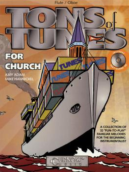 Tons of Tunes for Church: Flute/Oboe/Violin - Grade 0.5 to 1 (HL-44002290)