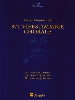 371 Vierstimmige Choräle (Four-Part Chorales): Part 2 in C - Treble Cl (HL-44003553)