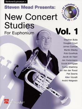 Steven Mead Presents: New Concert Studies for Euphonium (Vol. 1 Bass C (HL-44003627)