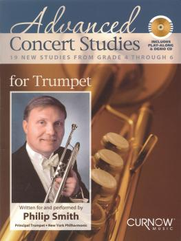 Advanced Concert Studies for Trumpet: 19 New Studies from Grade 4 Thro (HL-44006765)