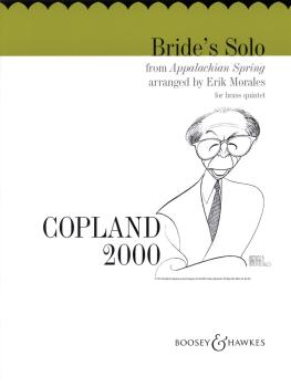 Bride's Solo from Appalachian Spring: Brass Quintet Score and Parts (HL-48001624)
