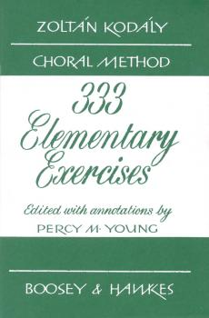 333 Elementary Exercises in Sight Singing (HL-48002815)