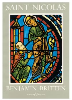 Saint Nicolas, Op. 42: A Cantata 1947-48 Vocal Score (HL-48008991)