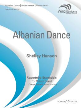 Albanian Dance: Windependence Master Level Grade 4 (HL-48018929)