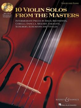 10 Violin Solos from the Masters: Violin and Piano With two CDs of per (HL-48019619)