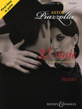 Astor Piazzolla - El Viaje: 15 tangos and other pieces Piano (HL-48019906)