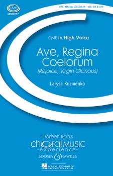 Ave, Regina Coelorum: Rejoice, Virgin Glorious CME In High Voice (HL-48020757)