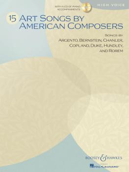 15 Art Songs by American Composers (High Voice, Book/CD) (HL-48021111)